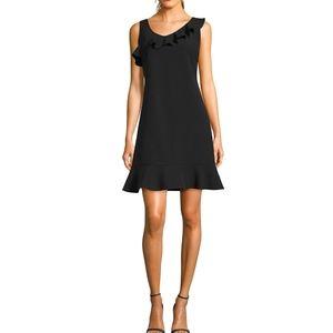 NICOLE MILLER - NWT Drop Waist Ruffle Dress